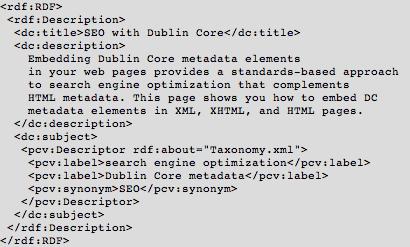 Dublin-core-XML