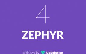 قالب Zephyr