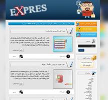 قالب وبلاگی expres